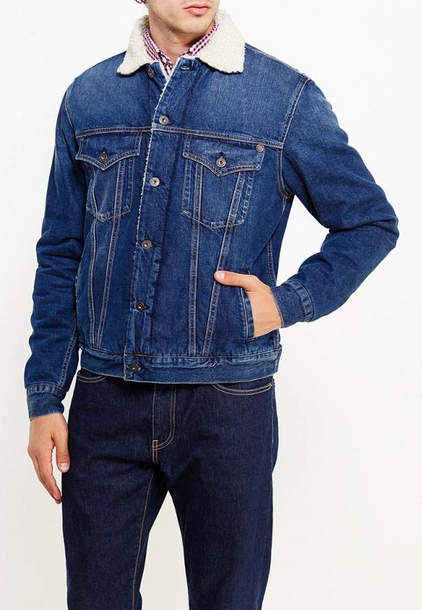Куртка джинсовая Pepe Jeans Pepe Jeans PE299EMTZX09 куртка джинсовая pepe jeans куртка джинсовая