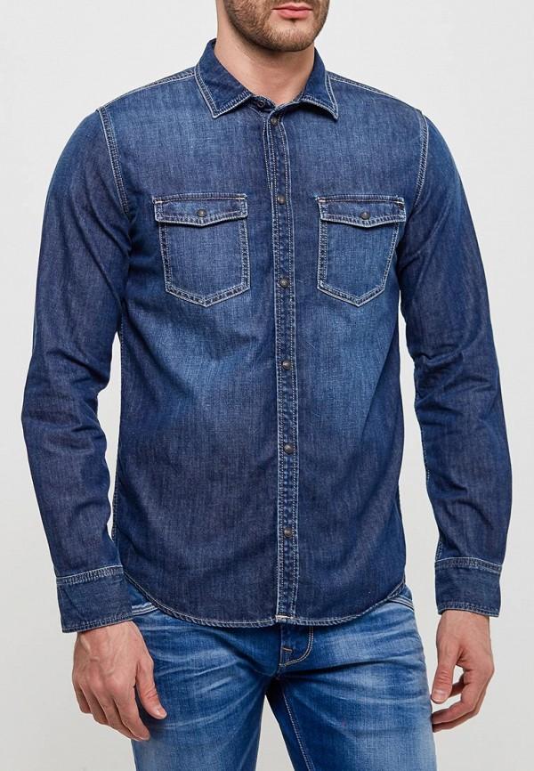 Рубашка джинсовая Pepe Jeans Pepe Jeans PE299EMZEV89 рубашка pepe jeans pepe jeans pe299emzgx02