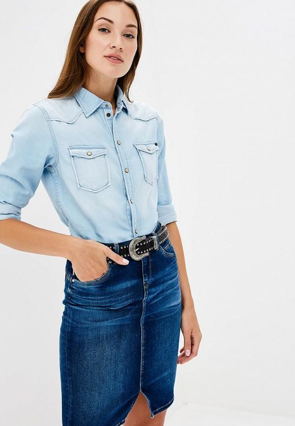 Рубашка джинсовая Pepe Jeans Pepe Jeans PE299EWBNTM3