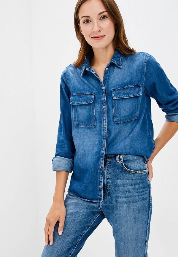 Рубашка джинсовая Pepe Jeans Pepe Jeans PE299EWBNTM4 рубашка pepe jeans pepe jeans pe299emzgx02