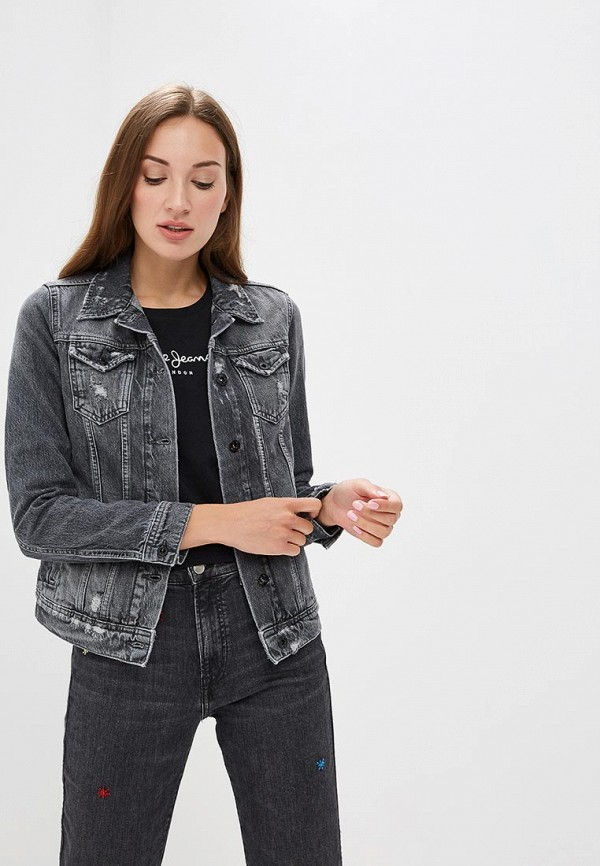 Куртка джинсовая Pepe Jeans Pepe Jeans PE299EWBNTM6 куртка джинсовая pepe jeans куртка джинсовая