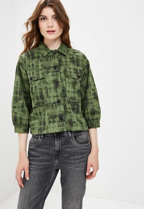 Купить Куртка Pepe Jeans, PE299EWBNTN3, хаки, Осень-зима 2018/2019