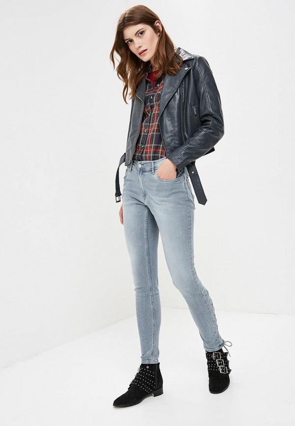 Фото 2 - женские джинсы Pepe Jeans синего цвета