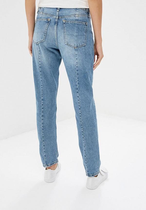 Фото 3 - женские джинсы Pepe Jeans голубого цвета