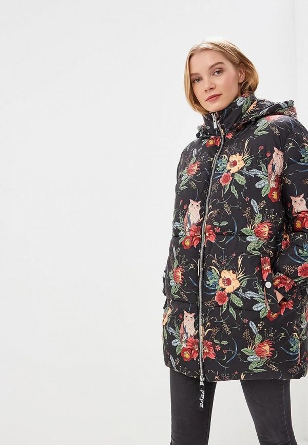 женская куртка pepe jeans london, разноцветная