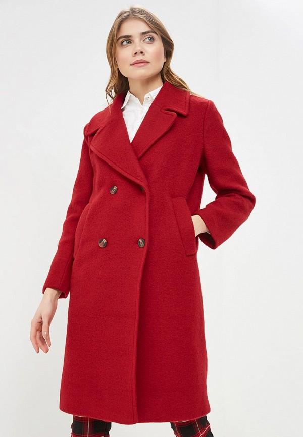 женское пальто pepe jeans london, красное