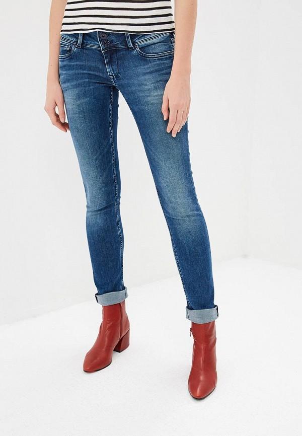женские  pepe jeans london, синие