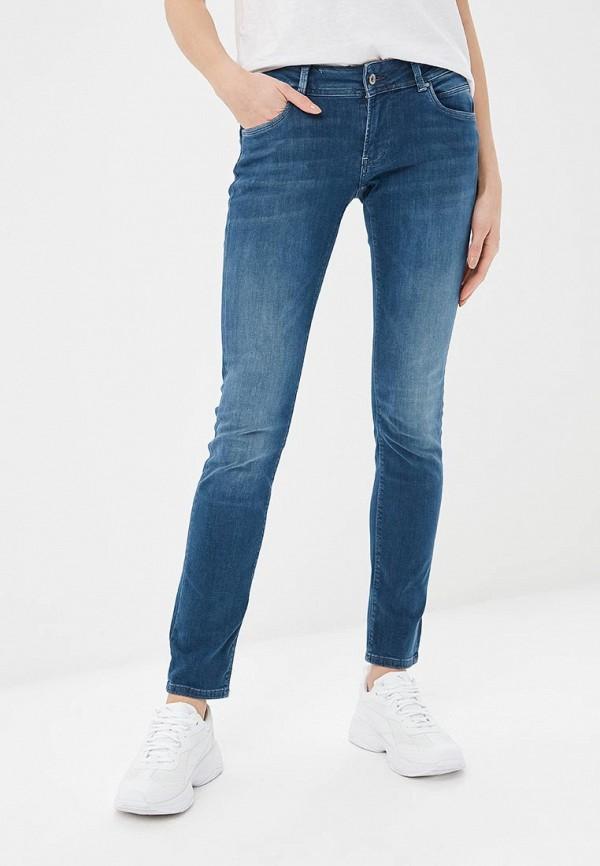 женские джинсы pepe jeans london, синие