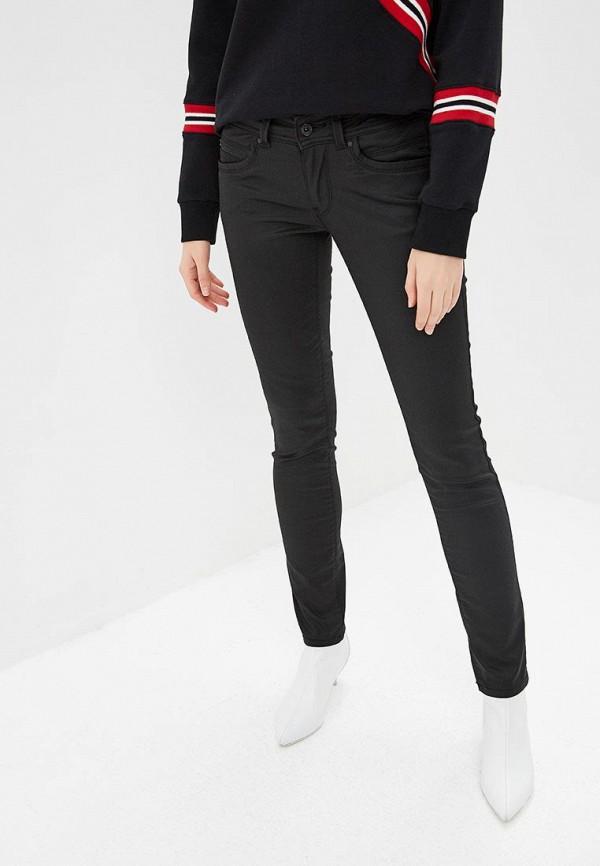 женские джинсы pepe jeans london, черные