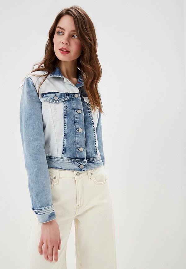 Куртка джинсовая Pepe Jeans Pepe Jeans PE299EWETGG9 pepe jeans куртка