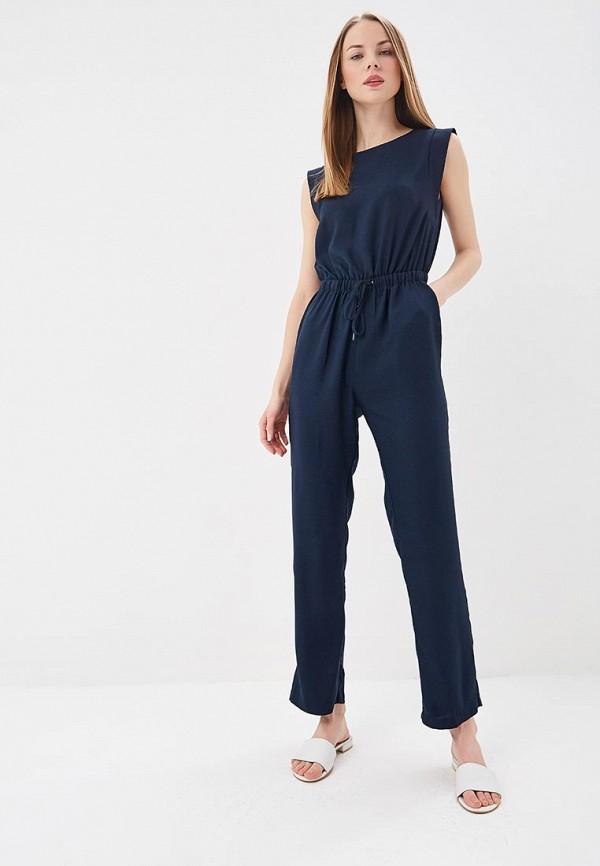 женский комбинезон pepe jeans london, синий