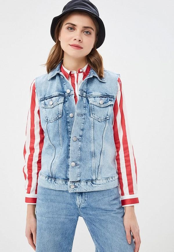 Джинсовые жилеты Pepe Jeans