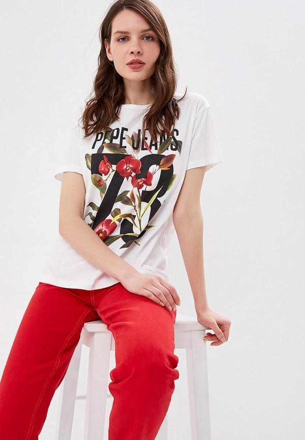 Футболка Pepe Jeans Pepe Jeans PE299EWETGK6 pepe jeans футболка