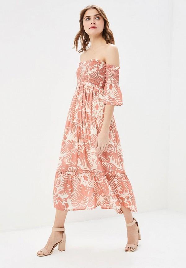 женское платье pepe jeans london, розовое