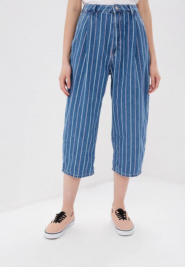 Фото - женские джинсы Pepe Jeans синего цвета