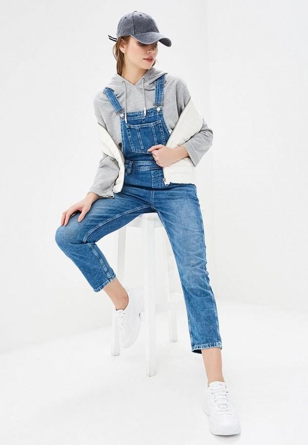 Комбинезон джинсовый Pepe Jeans Pepe Jeans PE299EWETGP9 комбинезон pepe jeans pepe jeans pe299ewzgw53