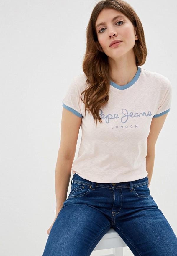Футболка Pepe Jeans Pepe Jeans PE299EWFWVN1 футболка pepe jeans pepe jeans pe299ewbtct4