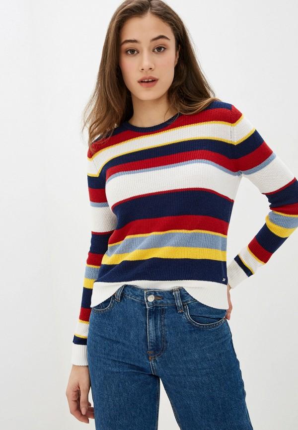 женский джемпер pepe jeans london, разноцветный