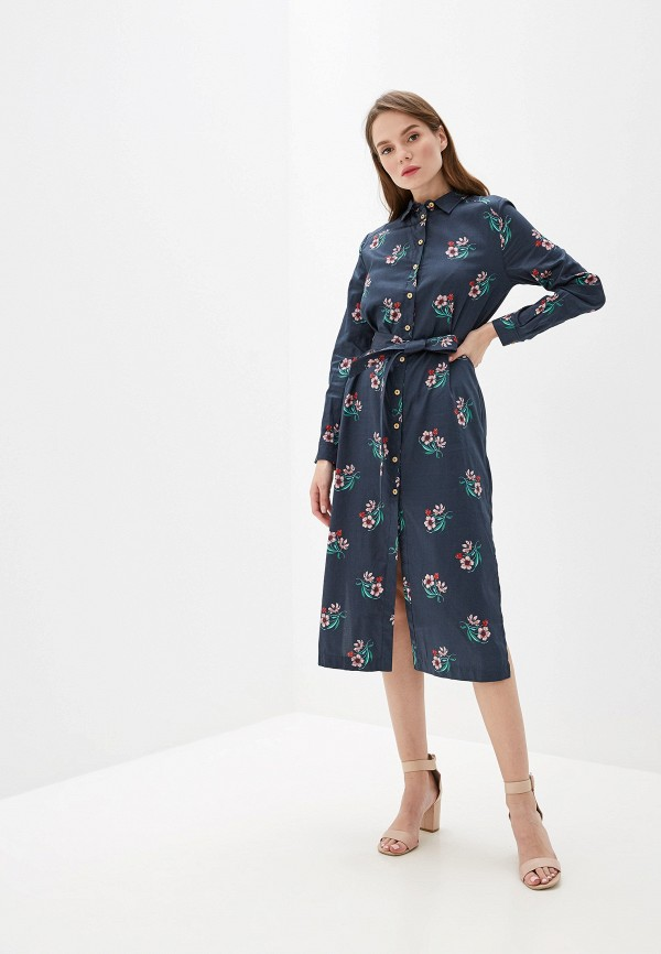 женское платье pepe jeans london, синее