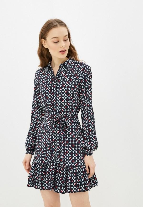 женское платье-рубашки pepe jeans london, разноцветное