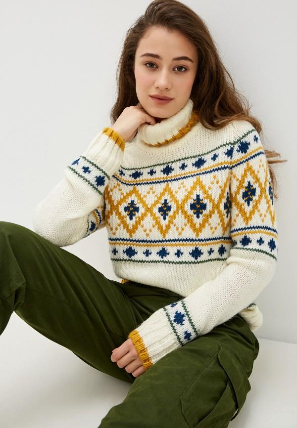 женский свитер pepe jeans london, бежевый