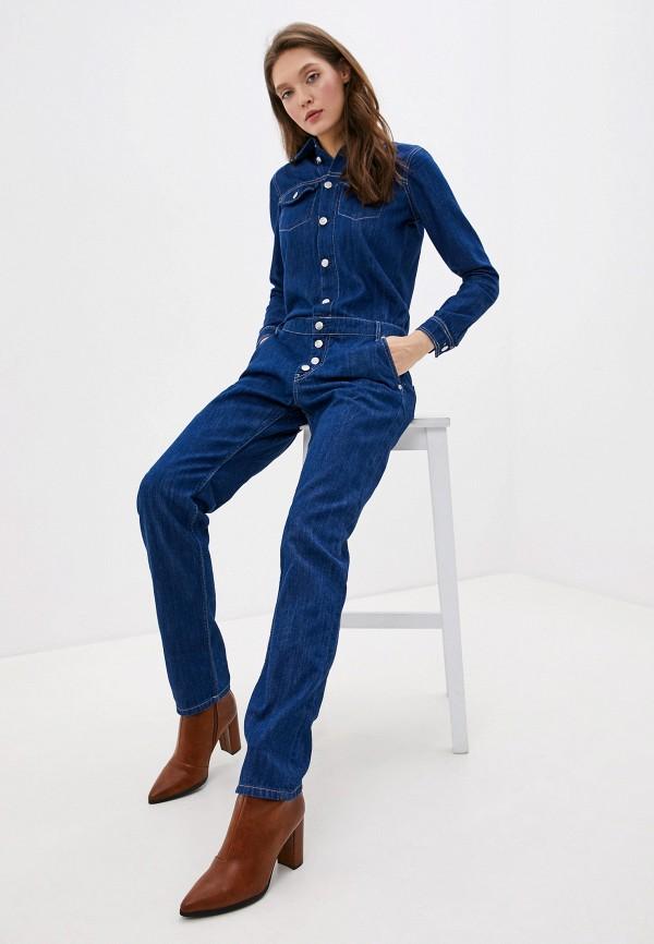 Комбинезон джинсовый Pepe Jeans Pepe Jeans PE299EWFWVX7 комбинезон pepe jeans pepe jeans pe299ewzgw53