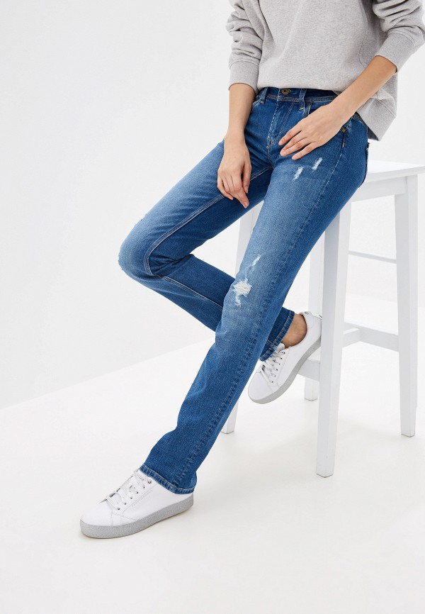 Джинсы Pepe Jeans Pepe Jeans PE299EWFWWA9 цена 2017