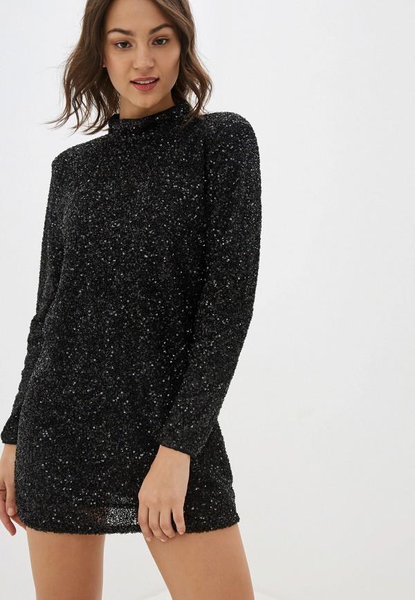 женское вечерние платье pepe jeans london, черное