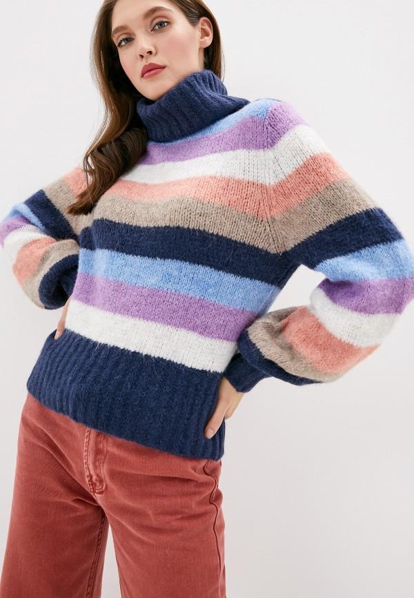 женский свитер pepe jeans london, разноцветный