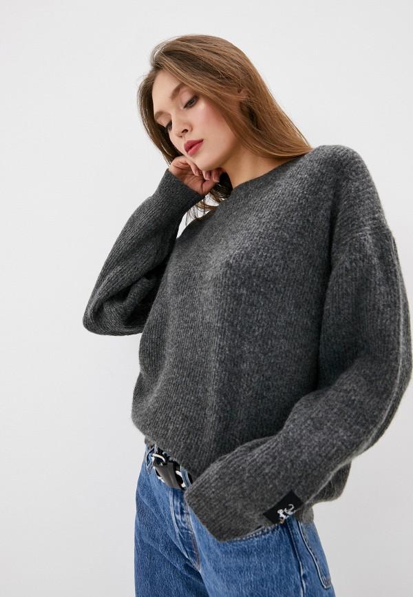 женский джемпер pepe jeans london, серый