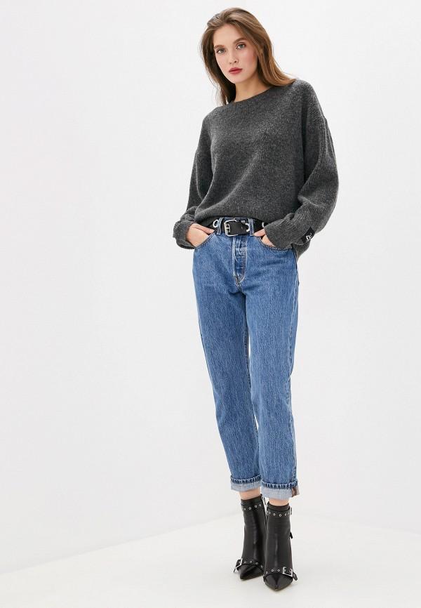 Фото 2 - женский джемпер Pepe Jeans серого цвета