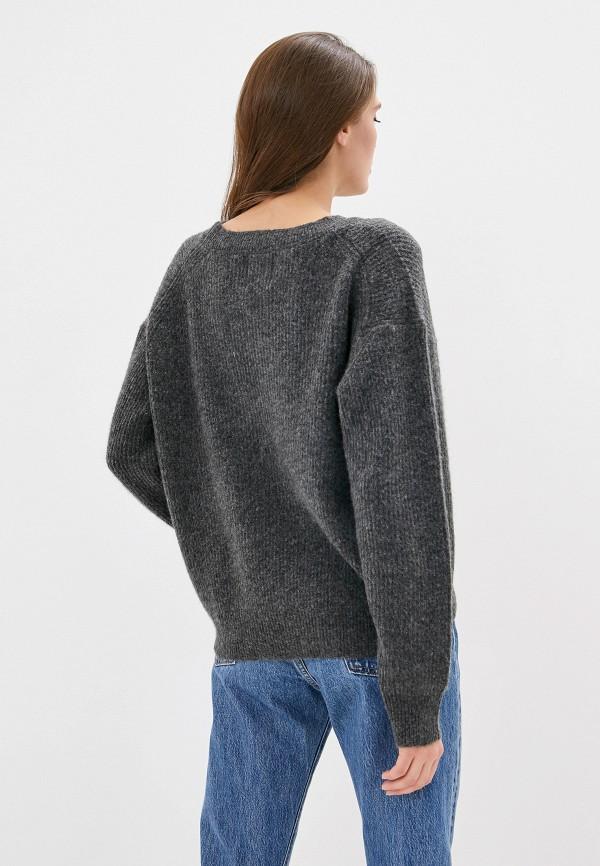 Фото 3 - женский джемпер Pepe Jeans серого цвета