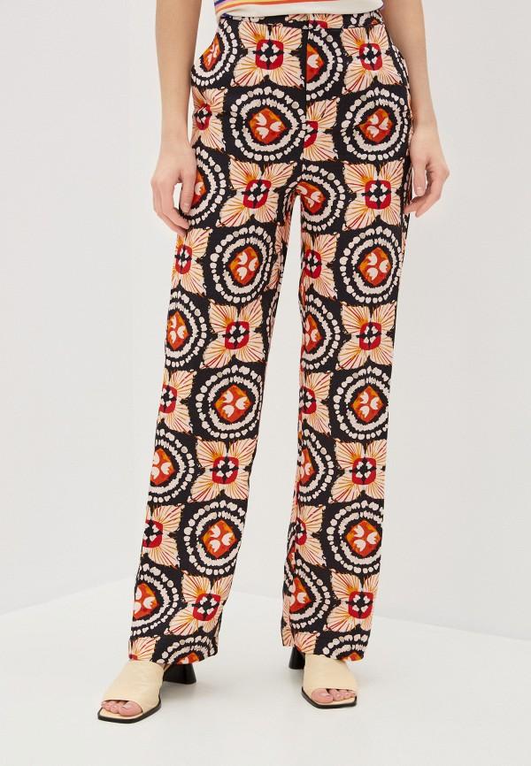 женские повседневные брюки pepe jeans london, разноцветные