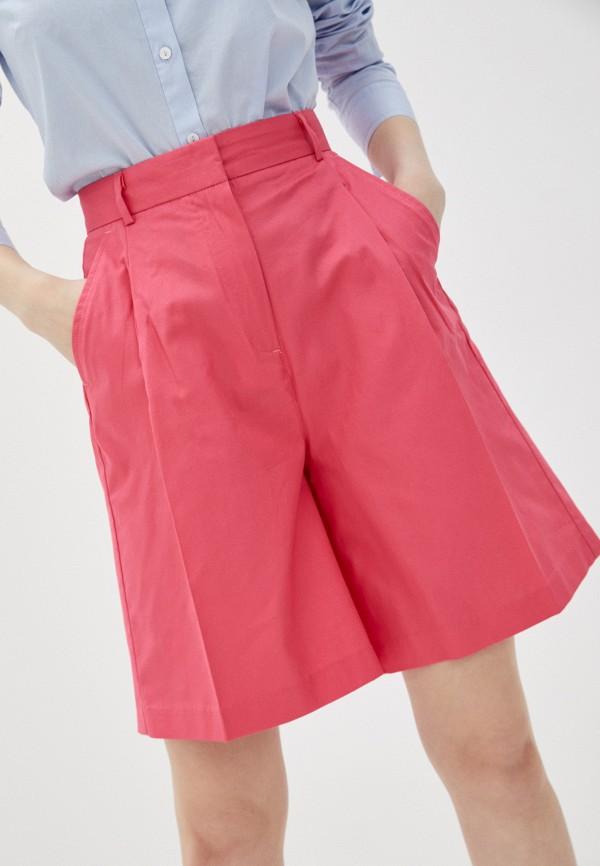 женские повседневные шорты pepe jeans london, розовые
