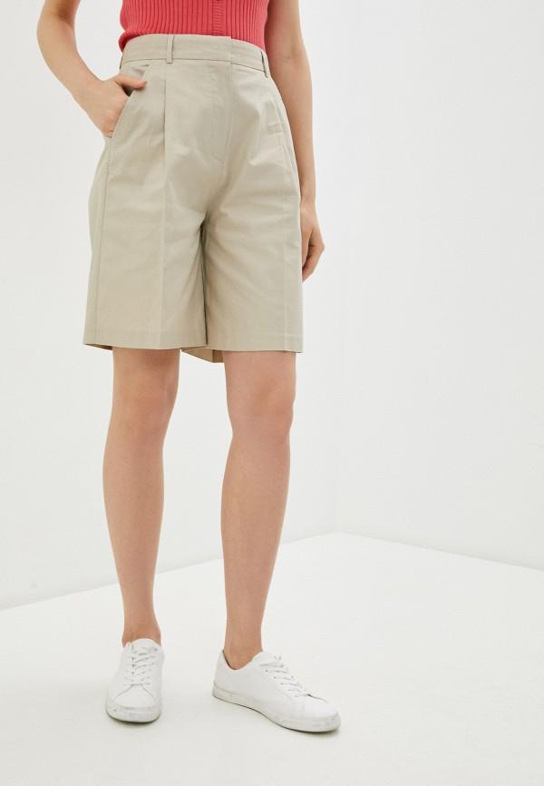 женские повседневные шорты pepe jeans london, бежевые