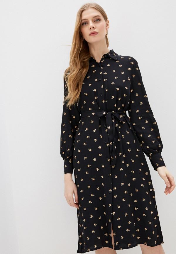 женское платье pepe jeans london, черное