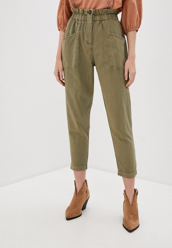 женские брюки pepe jeans london, хаки