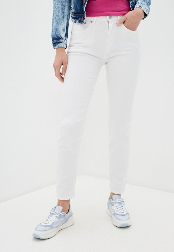 женские прямые джинсы pepe jeans london, белые
