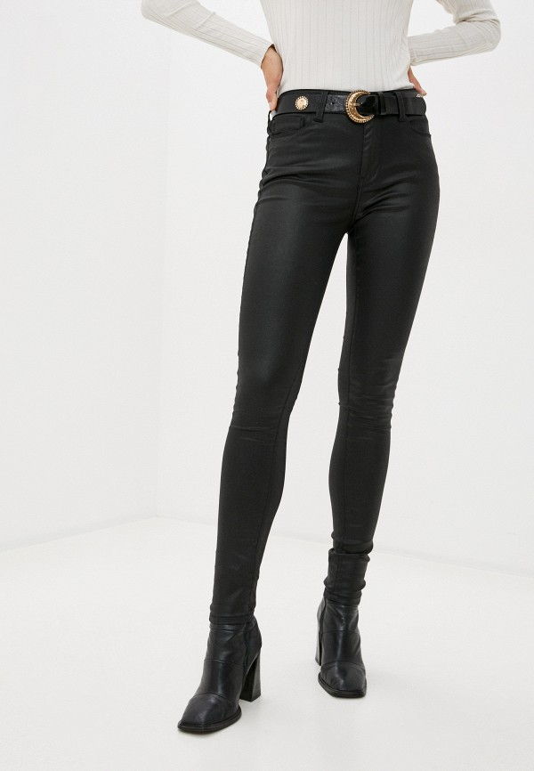 женские повседневные брюки pepe jeans london, черные