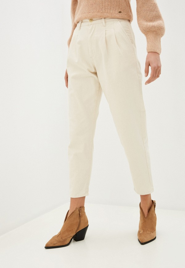 женские джинсы pepe jeans london, бежевые