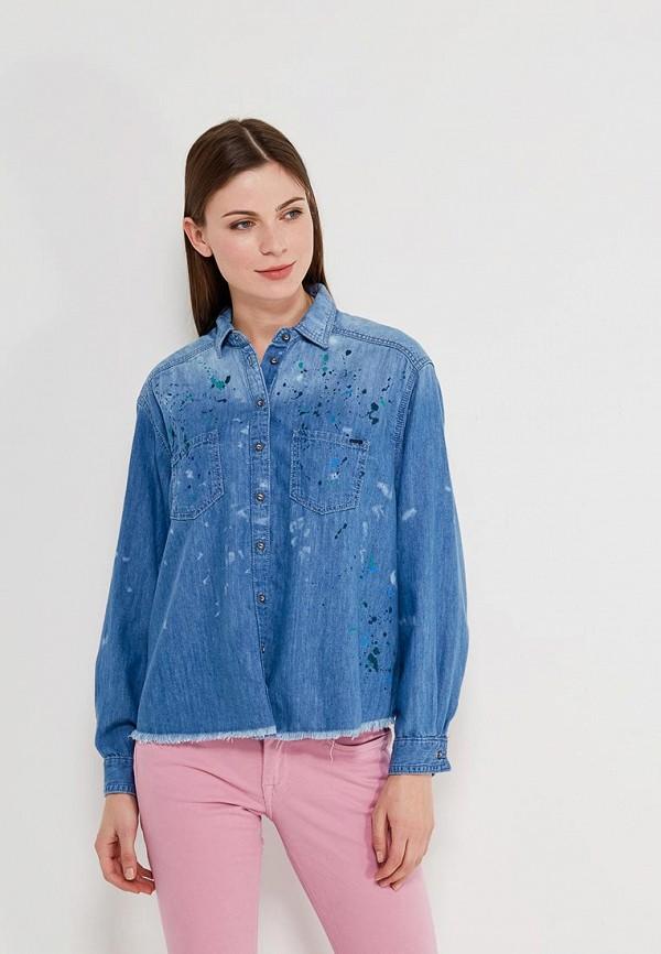 Рубашка джинсовая Pepe Jeans Pepe Jeans PE299EWZFA33 casio mtf 115l 7a
