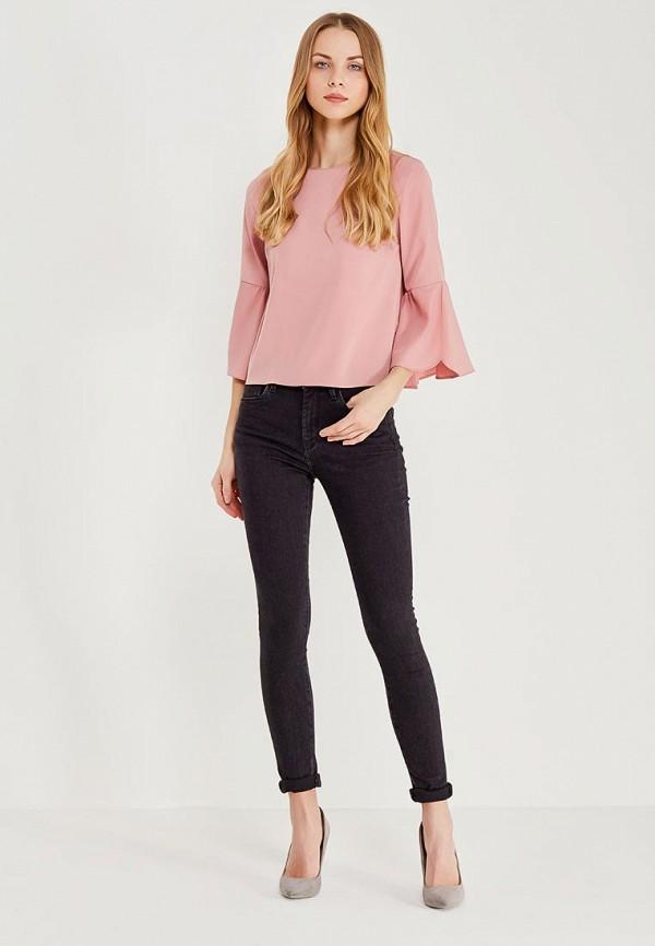 Фото 2 - женские джинсы Pepe Jeans серого цвета