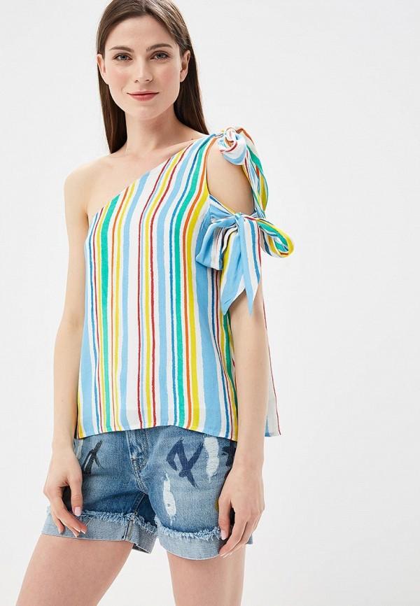 женский топ pepe jeans london, разноцветный