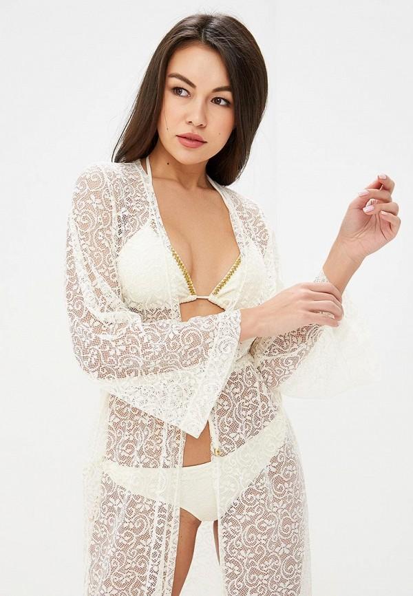 Фото 2 - Платье пляжное Phax белого цвета