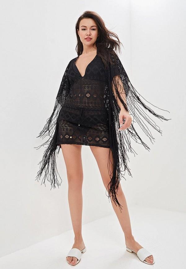 Фото 2 - Платье пляжное Phax черного цвета