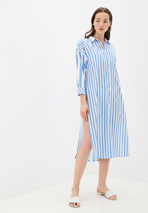 женское платье phax, голубое