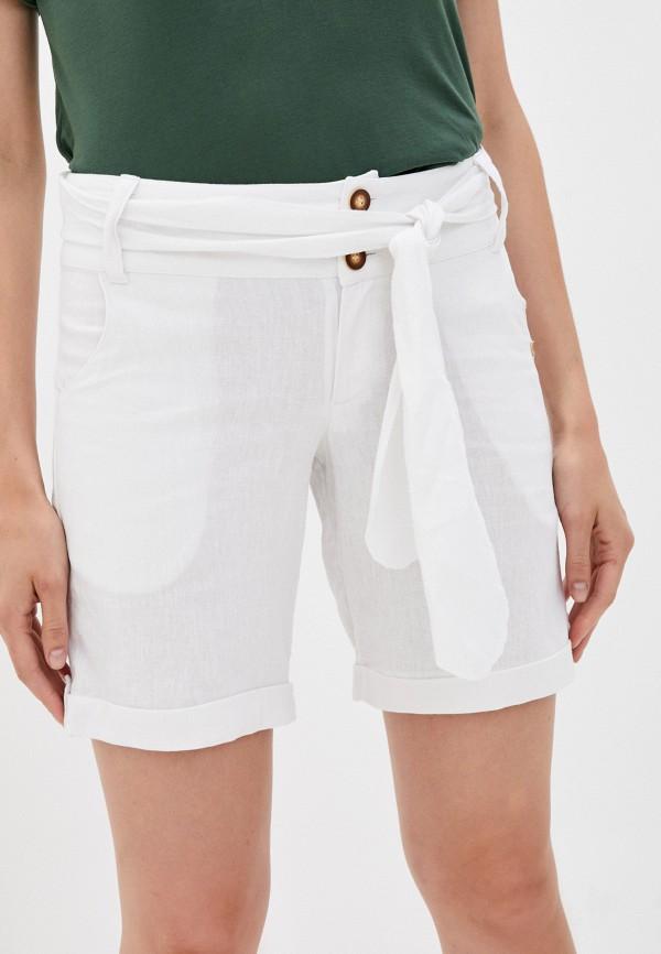 женские повседневные шорты phax, белые