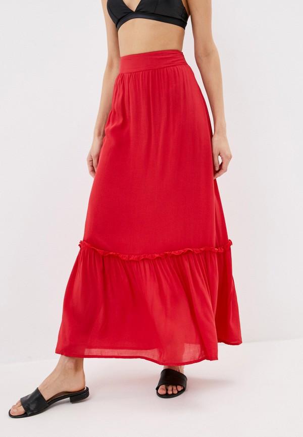 женская юбка phax, красная