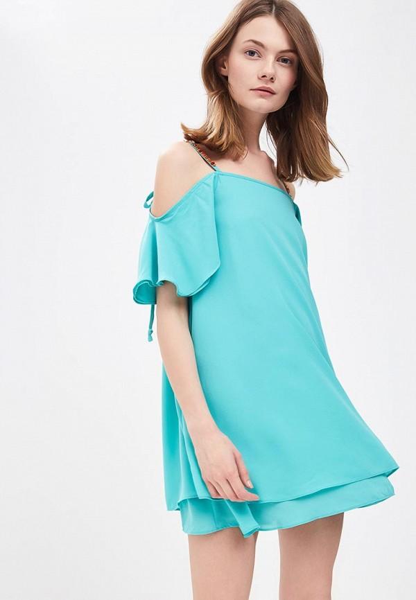 женское платье phard, бирюзовое