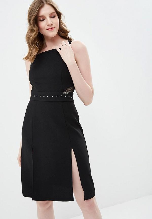 женское повседневные платье phard, черное